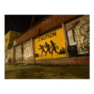 The Gentrification War Postcard
