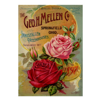 The Geo. H. Mellen Co. Greenhouse Advertisement Posters