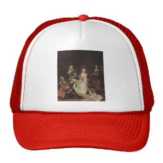 The Geography Lesson by Pietro Longhi Hat