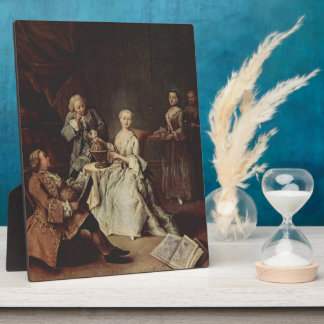 The Geography Lesson by Pietro Longhi Plaques