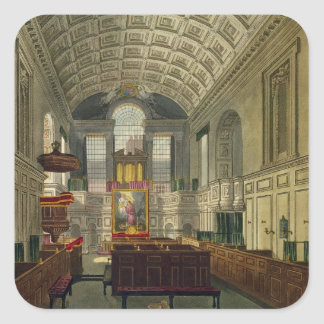 The German Chapel, St. James's Palace, from 'The H Sticker