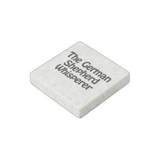 the german shepherd whisperer stone magnet