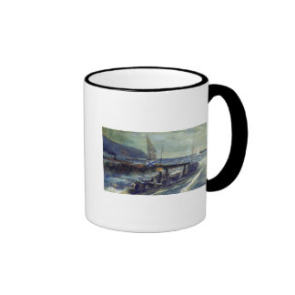 The German u-boat U 56 sunk by Grozovoi Ringer Coffee Mug