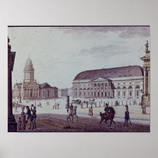 The Gerndarmenmarkt Poster