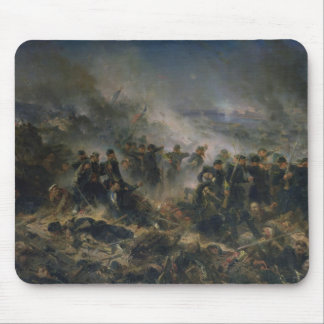 The Gervais Battery at the Siege of Sebastopol Mouse Pad