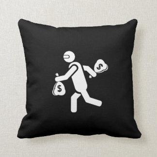 The Getaway II Pictogram Throw Pillow