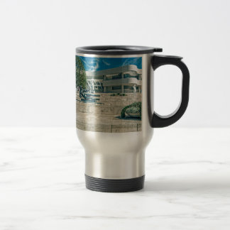 The Getty Center Arrival Plaza Coffee Mugs
