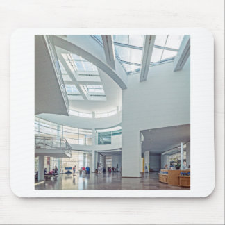 The Getty Center Entrance Hall Interior Mouse Pad