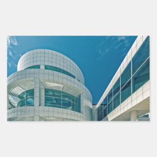 The Getty Center Entrance Hall Rectangular Sticker