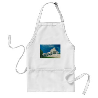 The Getty Center Exhibitions Pavilion Aprons