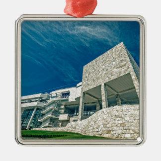 The Getty Center Exhibitions Pavilion Metal Ornament