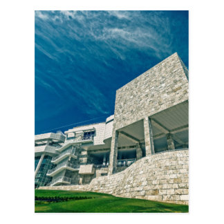 The Getty Center Exhibitions Pavilion Postcard