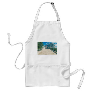 The Getty Center Research Institute Front Approach Adult Apron
