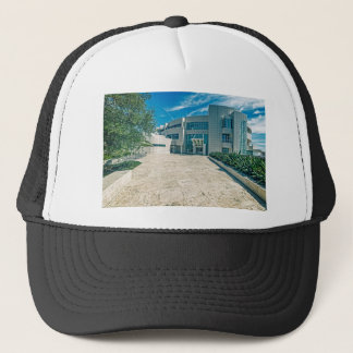 The Getty Center Research Institute Front Approach Trucker Hat