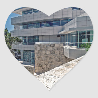 The Getty Center Research Institute Heart Sticker