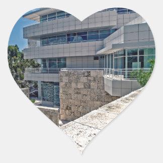 The Getty Center Research Institute Heart Sticker