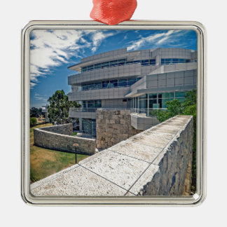 The Getty Center Research Institute Metal Ornament
