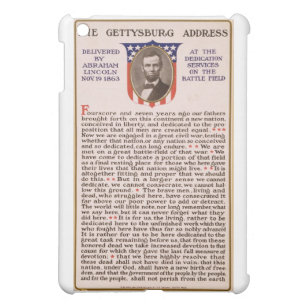 The Gettysburg Address by Abraham Lincoln 1863 Cover For The iPad Mini