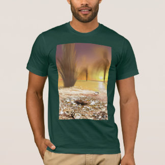 The Geysers of Mars T-Shirt