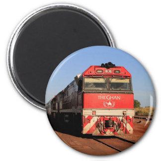 The Ghan train locomotive, Darwin Magnet