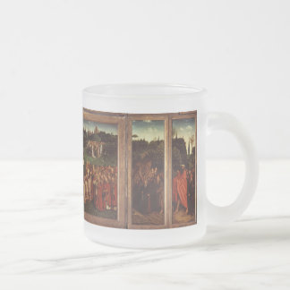 The Ghent Altarpiece Frosted Glass Coffee Mug