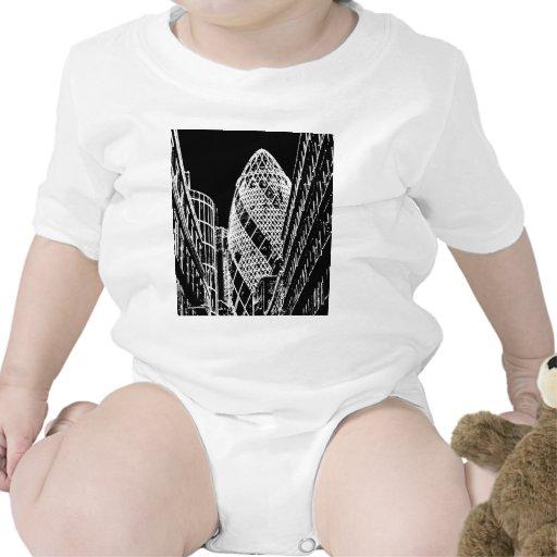 The Gherkin London Baby Bodysuit