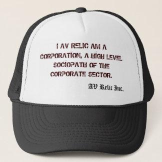 The Ghoscypher Effect, TM. AV RELIC Inc. Trucker Hat
