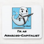 The Ghost Anarcho Mousepad