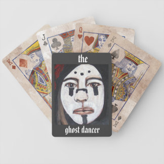 The ghost dancer poker cards