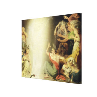 The Ghost of Clytemnestra Awakening the Furies, 17 Canvas Print