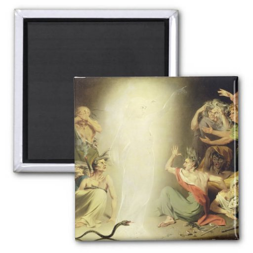 The Ghost of Clytemnestra Awakening the Furies, 17 Magnets