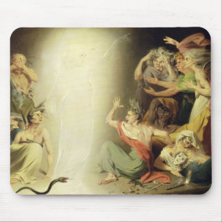 The Ghost of Clytemnestra Awakening the Furies 17 Mousepad