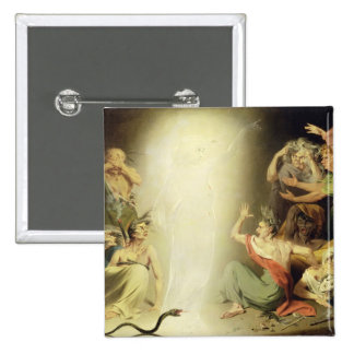 The Ghost of Clytemnestra Awakening the Furies, 17 Pinback Button