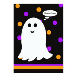 The Ghost of Halloween Birthday Party Invitation