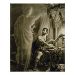 The Ghost of Julius Caesar, in the play by William Poster