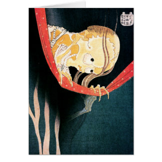 The Ghost of Kohada Koheiji, Hokusai Card