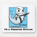The Ghost Outlaw Mouse Pad
