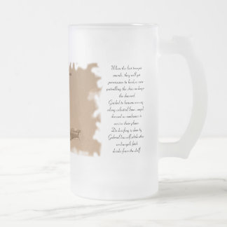 The Ghost Squadron Frosted Glass Beer Mug