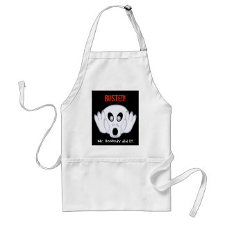 The Ghost Was Busted Adult Apron