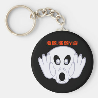The Ghost Was Busted Basic Round Button Keychain
