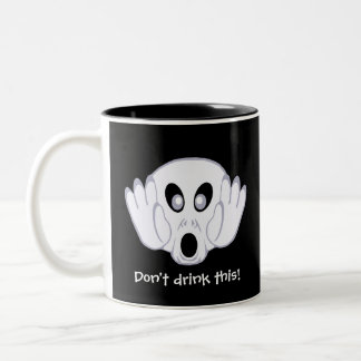 The Ghost Was Busted Mugs