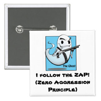 The Ghost ZAP Square Pin