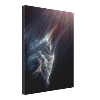 The Ghostly Pliades Canvas Print