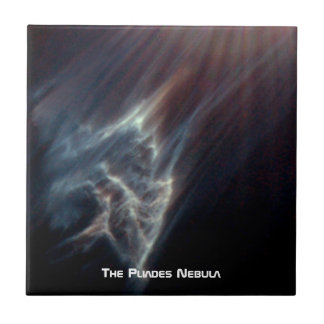 The Ghostly Pliades Ceramic Tile
