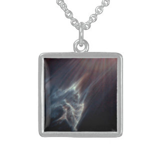 The Ghostly Pliades Sterling Silver Necklace
