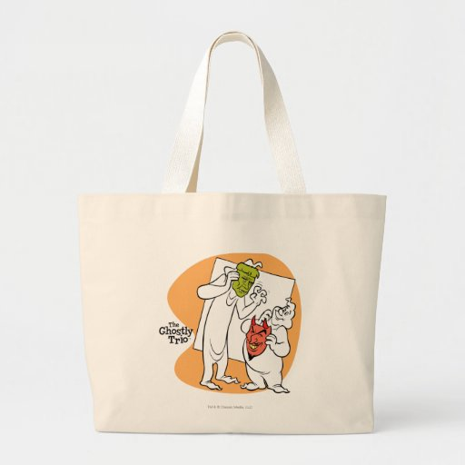 The Ghostly Trio 1 Jumbo Tote Bag