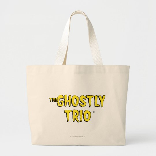 The Ghostly Trio Logo Large Tote Bag