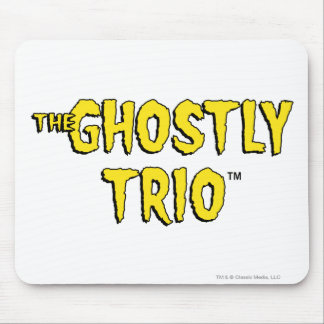 The Ghostly Trio Logo Mouse Pad
