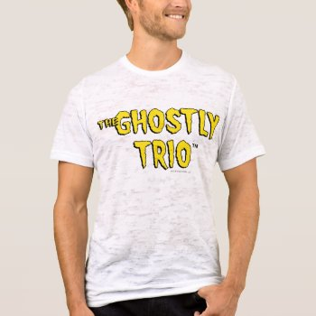 The Ghostly Trio Logo T-shirt by casper at Zazzle