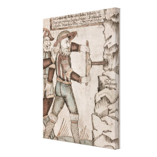 The giant Baugi, persuaded by Odin Canvas Print